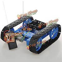 Сделай сам собирая прослеженный автомобильный комплект робота бака с дистанционным управлением для arduino