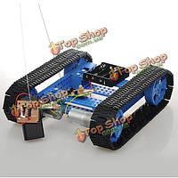 Бронированный гусеничный бак сделай сам умный автомобильный комплект с дистанционным управлением высоко закручивает