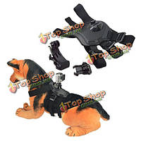 Собака выборки гончая проводов нагрудный ремень крепление для GoPro 3 4 3 плюс