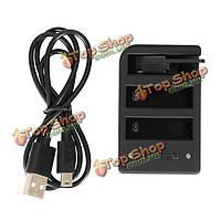 Телесин двойное зарядное устройство USB двойное зарядное устройство для WiFi пульт дистанционного управления для GoPro героя 4