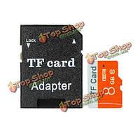 8Гб микро-SD TF Secure Digital высокоскоростной карты флэш-памяти класса 6