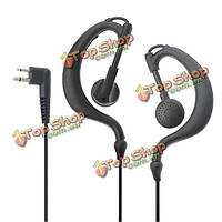 1.4м кабель 3.5мм 2.5мм + комплект громкой связи наушники для Motorola рации