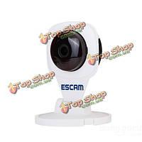 ESCAM алмаз qf506 беспроводной 720p P2P IP-камера безопасности TF карта для хранения