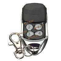 4 кнопки 433МГц черный ворота гаража замена ключа дистанционного управления для rcg12c