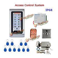 SYSD sy5000Втr-c diy водонепроницаемое дверное системное дистанционное управление клавиатуры RFID-считывателя металлического ящика комплекта управ