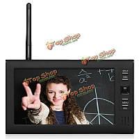 Эннио sy602e11 7 дюймов TFT цифровая 2.4G беспроводная система аудио-видео 4ch четырехъядерных DVR безопасности с IR камера