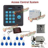 Sy5100r-C контроллер дверь контроля доступа ABS Клавиатура RFID считыватель дистанционного управления электрический замок двери