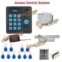 Дверной диспетчер управления доступом sy5100r-b abs дистанционное управление клавиатуры RFID-считывателя 10 удостоверений личности электрически