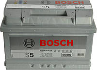Аккумулятор Bosch S5 007 Silver Plus 74Ah 12V (0092S50070)