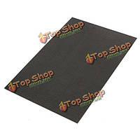 3K 200 * 300 * 2мм полотняного переплетения из углеродного волокна пластины панели листа, фото 1