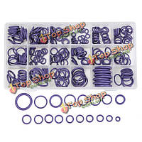 265шт фиолетовый кондиционирования воздуха уплотнительное кольцо резиновые кольца водонепроницаемой шайбы