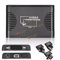 720p 1080p HDMI на скарт видео аудио конвертер адаптер
