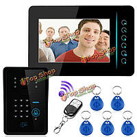 2.4g беспроводной телефон внутренней связи RFID дверной звонок удаленного контроля доступа камеры монитор SY806MJIDSW11 Эннио