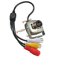 Видео камера цветная мини видеонаблюдения проводная