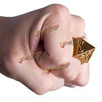 Карман самообороны кольцо шокер выживания оружие кольцо инструмент женского кольца с Trav ожерелье из цинкового сплава