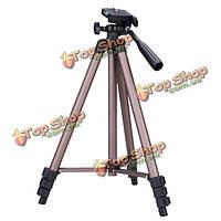 Sony DSLR камер DV видеокамеры Canon Nikon wt3130 Переносной штатив для