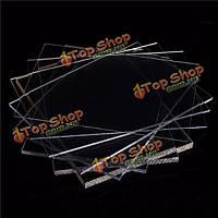 200 * 200мм прозрачный поликарбонат резка панелей резьба пластины 2-8мм