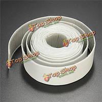 38мм х 3.35m ПВХ белый водонепроницаемый лента уплотнительная лента ремонт полосы