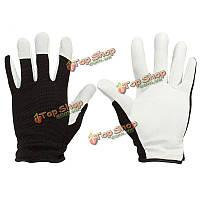 Pigskin кожаные перчатки рабочие кожаные пальто садоводческие перчатки Механик перчатки M L XL для работы спорта