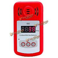 KXL-602 портативный мини-анализатор горючих детектор газа тестер утечки газа с звуковой и световой сигнализации
