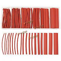 100шт галогенов 2 : 1 термоусадочная трубка жильный кабель Оплеточные 6 размер 7colors