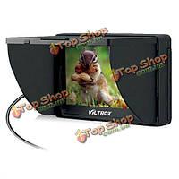 HD клип LCD  5-дюймов монитор широкий зрения камеры для DC-50 viltrox портативный Canon Nikon Sony dslr dv