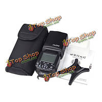 Triopo TR-586EX speedlite беспроводной режим вспышки ttl для Nikon d7100 D3200 dslr камеры D800 d750
