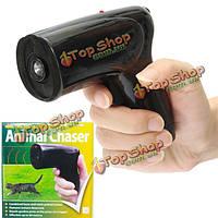 Портативный ультразвуковой собака отпугиватель chaser стоп-Лай животных защищают тренировки собаки