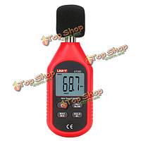 UNI-T UT353 мини-цифровой измеритель уровня звука 30-130db приборы шума тестер контроля децибел