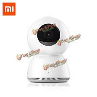1080p 360° панорамный домашний Wi-Fi IP-обнаружение движения камеры ночного видения магии 4x зум Видеодомофон Xiaomi MiJia оригинал