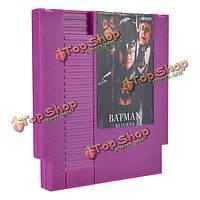 Бэтмэн возвращается 72 пин 8 битную картридж игры карты для NES Нинтендо