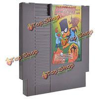 Симпсоны - BartMan встречается радиоактивный человек 72 пин 8 битную картридж игры карты для NES Нинтендо