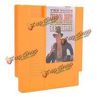 Хроники молодого Индианы Джонса 72 пин 8 битную картридж игры карты для NES Нинтендо