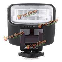 1.5-дюймов LCD  E-TTL на камере ведомая вспышка света Speedlite для JY-610C 750D 760d 5Dr 5drs 60D 70D 700D Canon DSLR камеры 5D3 viltrox