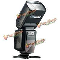 Triopo TR-982 II 1/8000 HSS мульти LCD  ведомый режим беспроводной ведущей вспышки света Speedlite для Nikon триггер камеры DSLR