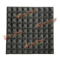 45 * 45 * 5см черный треугольник изоляции уменьшить шум губки пены хлопка