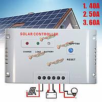 WS-MPPT60 40/50/60А 12v/24v MPPT регулятора панели солнечного контроллера заряда с индикатором LED