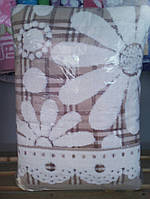 Банное полотенце лён махра (очень качественное), фото 1