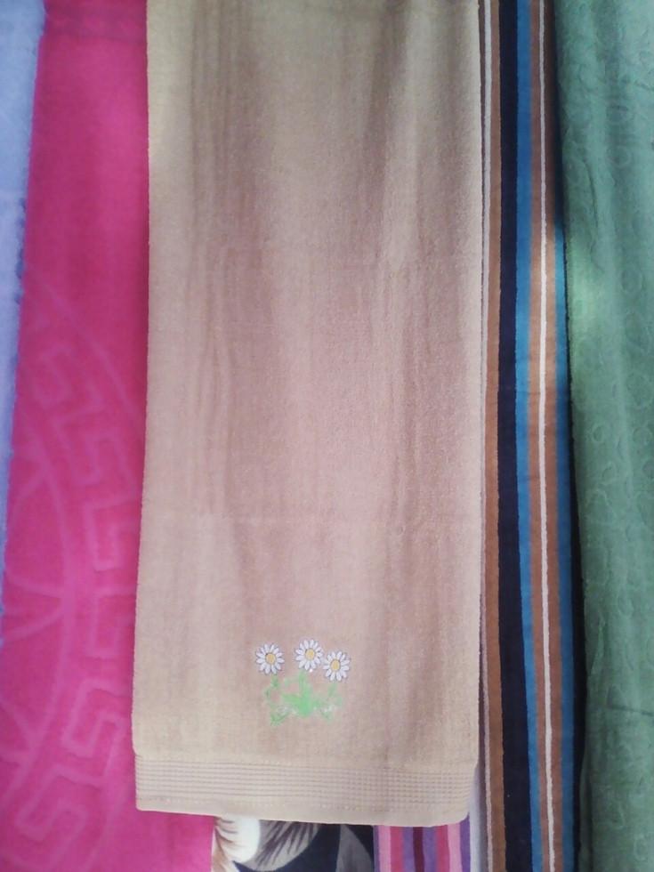 Банное полотенце махра