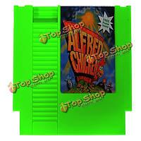 Alfred курица 72 контактный 8бит карточная игра картридж для NES Нинтендо