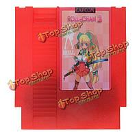 Rollchan 3 72 контактный 8бит картридж игры карты для NES Нинтендо