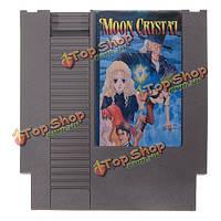 Луна кристалл 72 контактный 8 бит картридж карточная игра для NES Нинтендо английская версия