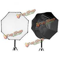 Godox портативный 120см восьмиугольник софтбокс зонтик зонтик отражатель для SPEEDLIGHT вспышки света