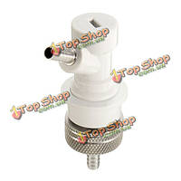 Карбонизация крышка с газовым шаровым блокировка отключения счетчика заполнения бутылки под давлением
