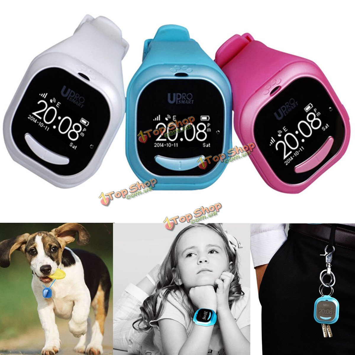 Международная версия дети ребенок умные часы P5 трекер WiFi сим Сос призывают к Ios андроид GPS upro - ➊TopShop ➠ Товары из Китая с бесплатной доставкой в Украину! в Киеве