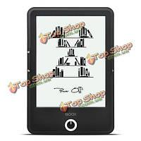 Carta 8Гб 6.8-дюймов для чтения электронных книг 265ppi сенсорный экран Wi-Fi Bluetooth  BOOX T76 Plus оникс