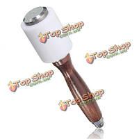 Поделки кожа ремесло инструмент резьба конгрев Hammer деревянная ручка из нейлона