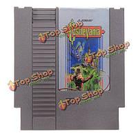 Castlevania 72 контактный 8бит картридж игры карты для NES Нинтендо