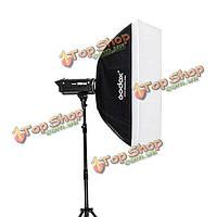 Godox портативный 60 х 90см зонтик фото софтбокс отражатель для вспышки Speedlight