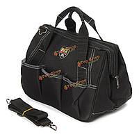 Черный портативный мешок хранения электрика многофункциональный инструмент карманный сумка ремень тотализатор кейс, фото 1